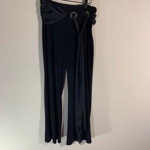 Joseph Ribkoff Tie Waist Stretch Pants 8